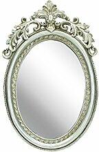 Dekoria Spiegel Kristina oval 15x22cm silver Spiegel, Wandspiegel, Flurspiegel, Garderobenspiegel, Geschenk Geschenk