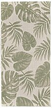 Dekoria Teppich Cottage Wool/Jungle Green 67x130cm