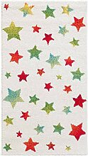 Dekoria Teppich Modern Stars Cream 67x130cm