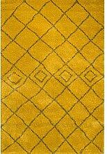 Dekoria Teppich Royal Mustard-Grey 160x230cm