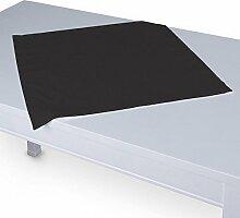 Dekoria Tischdecke mit breitem Saum 60 x 60 cm Shadow grey