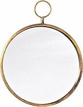 Dekoria Wandspiegel Old Gold 40cm Spiegel, Wandspiegel, Dekoration Geschenk