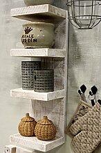dekorie67 Holz Gewürzregal stehend hängend