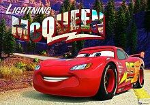 DekoShop Disney Cars Laminierte Fototapete Vlies