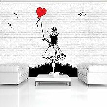 DekoShop Fototapete Vlies Tapete Moderne Wanddeko