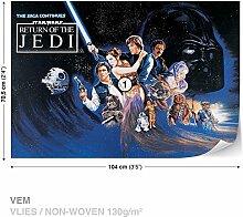 Dekoshop Vlies Fototapete Tapete Vliestapete Star Wars Jungen (104cm x 70,5cm) AD1589VEM Photo Wallpaper Mural