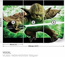 Dekoshop Vlies Fototapete Tapete Vliestapete Star Wars Jungen AD1590VEXXL (312cm x 219cm) Photo Wallpaper Mural
