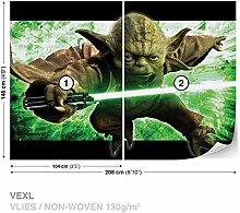 Dekoshop Vlies Fototapete Tapete Vliestapete Star Wars Jungen AD1590VEXL 208cm x 146cm Photo Wallpaper Mural