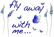 Dekosticker Butterflies Komar