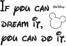 Dekosticker You can do it Disney Komar
