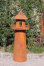 Dekostüberl Edelrost Leuchtturm mit Brenntopf