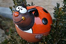 Dekostüberl Rostalgie Keramik Gartenkugel