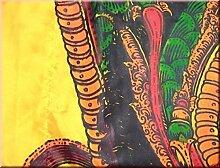 DEKOVALENZ - Drachen-Fahnen Stoff Dragon mit