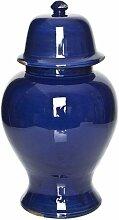 Dekovase ClearAmbient Farbe: Blau antik