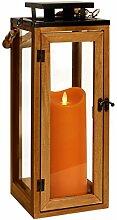 Dekovita Holz-Laterne 42cm inkl Tronje