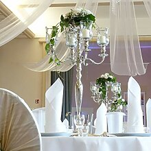 Dekowelten Kerzenständer + Blumenschale + 4 x