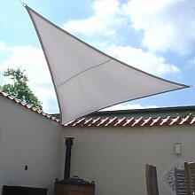 Dekowelten LUXUS Terrassen Sonnensegel dreieck der