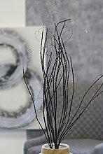 Dekozweig Curly braun Höhe 100 cm, Zweig, Pflanze, Tischdeko, Deko