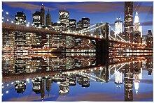 Delester Design gt108g3Wanddekoration New York