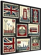 Delester PP481O2 Design Briefmarken Englisch