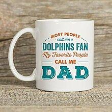 Delfinbecher, Becher für Papa, Delphingeschenk,