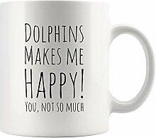 Delfine machen mich glücklich, dass Sie nicht so