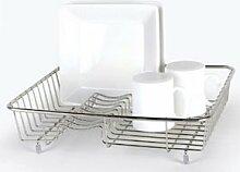 Delfinware Abtropfgestell für Geschirr, Edelstahl