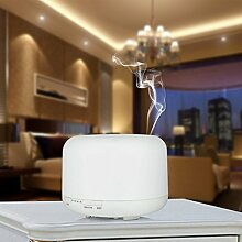 DeliaWinterfel 500ML Home Aroma Luftbefeuchter Ultraschall LED Purifier Diffusor | Startseite, Spa, Schlafzimmer, Wohnzimmer