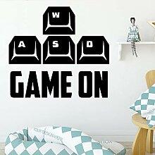 Delicate play gamer umweltschutz vinyl aufkleber