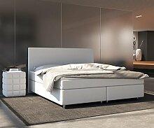 DELIFE Bett Cloud Weiss 140x200 cm Matratze und