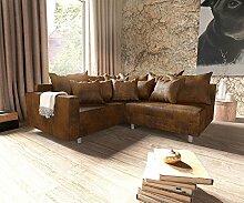 DELIFE Couch Clovis modular - Ecksofa, Sofa,