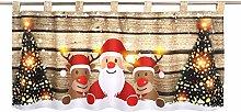Delindo Lifestyle LED Scheibengardine Christmas