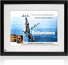 Deliverance Filmposter, signiert von Burt