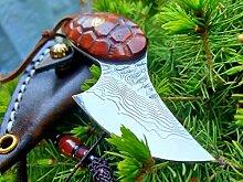 DELLINGER Little Turtle vg-10 & Damastmesser &