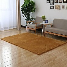DELLT UK-Schöne Samt-Teppich Wohnzimmer Schlafzimmer Bedside Tatami Teppich Sofa Rechteckige Teppich
