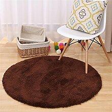 DELLT UK-Super Runde Teppiche Wohnzimmer Schlafzimmer Teppich Computer Stuhl Teppiche