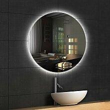 DELM Beleuchtung Badspiegel/Wandspiegel mit LED