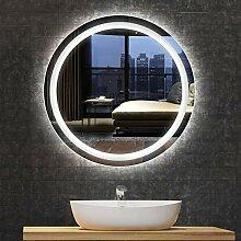 DELM Spiegel, LED wasserdicht Badspiegel
