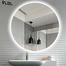DELM Touch Wandspiegel Runder Badspiegel