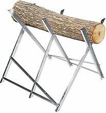 DELMO Klappsäge Pferdeschneiden Holzständer