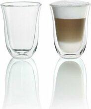 DeLonghi 5513214611Isolierte Latte Macchiato-Glas