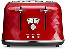Delonghi - CTJ4003R - Toaster für 4 Scheiben,