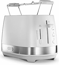 DeLonghi CTLA2103.W Toaster 2 Scheiben/E weiß 900