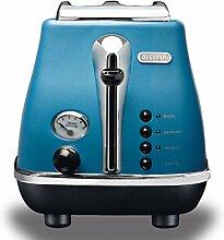 DeLonghi CTO 2003 B Toaster, 900 Watt blau