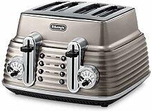 DeLonghi CTZ 4003 BG Scultura Toaster (1800 W)