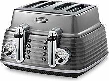 DeLonghi CTZ 4003.GY Scultura Toaster