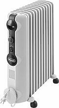 DeLonghi TRRS1120 Radiator Radia-S Serie (Für Räume bis zu 60 m³, 2200 Watt) grau