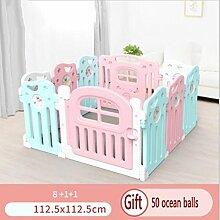 DELOVE Indoor Kinder Zaun, Safe Krabbeln Kleinkind