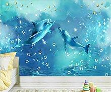 Delphin Tapete Wandbild für Kinder Schlafzimmer