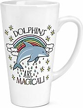 DELPHINE SIND Magical 17oz groß Latte Becher Tasse